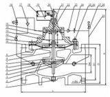 Valvola di regolazione della pompa di Jd745X