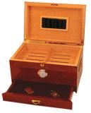 Hölzerner Zigarre-Luftfeuchtigkeitsregler-Multifunktionsschrank