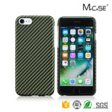 Deluxe 100% Aramid Fiber Matte Case Cover para iPhone 7 Back Cover Waterproof Case Wholesale