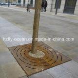 Fo-9t04 de alta qualidade Corten Steel Tree Pool Cover