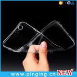 Dekking van het Glasheldere Silicone van het Geval van de luxe de Uiterst dunne Slanke Zachte voor iPhone 7