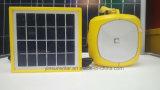 lâmpada solar de leitura e de acampamento de 2W com fonte luminosa