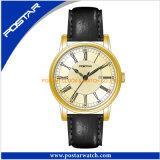Горяче! Unisex кожа вахты швейцарца и Wristwatch ранга верхней части