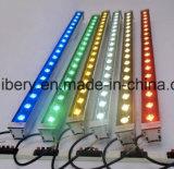 iluminação ao ar livre R G B Y RGB da paisagem da luz de inundação da arruela da lâmpada da lavagem da parede do diodo emissor de luz 9W