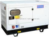 10 KVA ATMが付いている無声水冷却の電気ディーゼル発電機