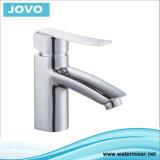 Solo mezclador plateado cromo del lavabo de la maneta (JV73801)