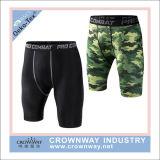 Shorts adatti di compressione di Shorts di sport di Coolmax Dri degli uomini