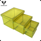 Rectángulo de almacenaje del PVC de la alta calidad