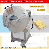 FC-503D jengibre ajustable rebanadora de, patata dulce corte de la máquina