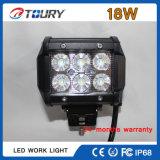 luzes de trabalho Offroad da luz de inundação do diodo emissor de luz do CREE 18W