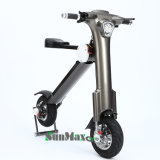 12 Zoll-Rad, das elektrisches Fahrrad faltet