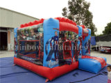 Neues Design Inflatable federnd Jumping Castle für Popular Carton