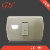 Interruttore elettrico di vendita caldo standard americano della parete del campanello per porte
