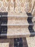 плитки лестницы отделки 1200X330mm застекленные мрамором, плитки настила лестниц