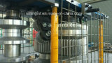Máquina que graba del papel de aluminio