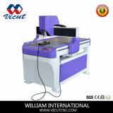 기계 (VCT-6090S)를 새기는 CNC를 기계로 가공한 CNC 대패에 표시