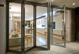 Moderner Entwurfs-Aluminiumtoiletten-Bi-Falte - Tür