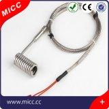 Calentador de bobina Micc 12V/240V/110V/220V con el cable del terminal de componente de la fibra de vidrio