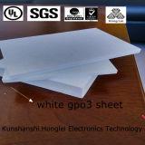 Couleur rouge/blanche de feuille du matériau Gpo-3/Upgm 203 de couvre-tapis de fibre de verre