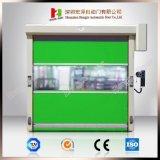 산업 안전 직물 고속 주문을 받아서 만들어진 PVC 자동적인 연약한 미닫이 문 (Hz FC0562)