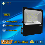 Garantia de 3 anos IP65 Outdoor LED Floodlight 100W