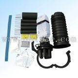 El cable óptico articula el encierro protector