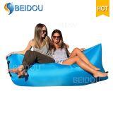 Sofa-Bett-aufblasbarer Bananen-Schlafsack der Luft-1-Mouth für Verkauf