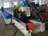 Stahlladeplatten-Zahnstangen-Träger-Gefäß-Walzen-Maschine anpassen
