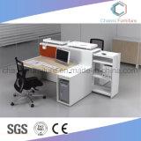 Modern Bureau 2 het Modulaire Werkstation van de Lijst van de Computer van Zetels