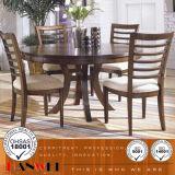 나무로 되는 가구 식당 고정되는 식탁 및 의자