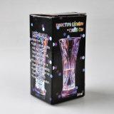 Vidrio del jugo de venta que brilla intensamente de la promoción de cumpleaños de los colores calientes de la fiesta diez