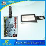 도매 주문 연약한 PVC 여행 부대 꼬리표 또는 여행 이름표 또는 금속 ID 중요한 꼬리표 (XF-LT05)