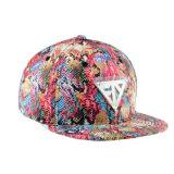 カスタム帽子の花の6つのパネルPUの急な回復の帽子