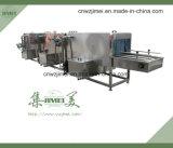 Ligne de nettoyage efficace pour les cages et les palettes en plastique Machine à laver