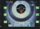 مقياس انكسار ذاتيّة & [كرتومتر], مقياس انكسار ذاتيّة مع [كرتومتر] عمل, تجهيز عينيّ