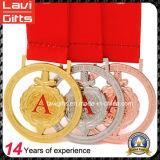ベストセラーのマラソンのフィニッシャーのスポーツの金属メダル