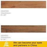 Tegel van het Porselein van Inkjet de Grijze Digitale Houten voor Vloer en Muur