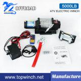 Treuil électrique de treuil automatique du treuil UTV (5000lb 12V/24V)