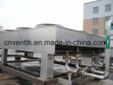 Dispositivo di raffreddamento del ventilatore dell'aletta dei condensatori dell'evaporatore della lamina piana di HVAC