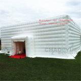 Tenda gonfiabile di campeggio personalizzata esterna del cubo per l'evento di sport