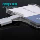 Portatarjetas plásticos verticales y horizontales del uso doble del seguro