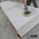 Kingkonree Glacier White Acrylic Resin Wall Stone Solid Surface