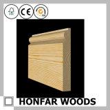 bois solide de 21mmx192mm bordant pour des accessoires de plancher