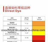 Directe Kleurstoffen Gele 27 voor het Verven van het Document