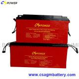 Bateria profunda 6V420ah do gel do ciclo do painel solar para o armazenamento da potência