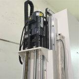 Tipo vertical de frecuencia media máquina del SCR del endurecimiento de inducción del CNC para el eje del diámetro 60m m