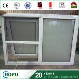 浴室の換気のためのPVCハリケーン影響によって二重ガラスをはめられるWindows