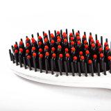 As ferramentas do salão de beleza da beleza vendem por atacado o endireitamento elétrico do pente do cabelo reto do indicador do LCD