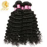 7A уток волны человеческих волос Remy девственницы бразильянина ранга 100% глубокий