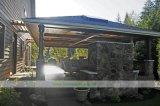 LuxuxEdelstahl-im Freienküche mit Insel-Schrank (WH-D473)